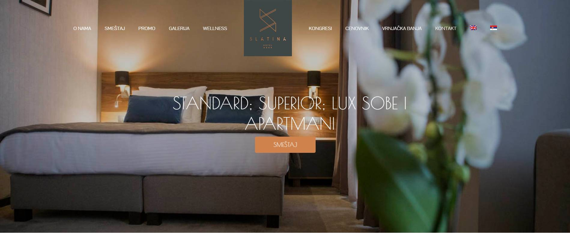 lobohouse hotel slatina web resenja
