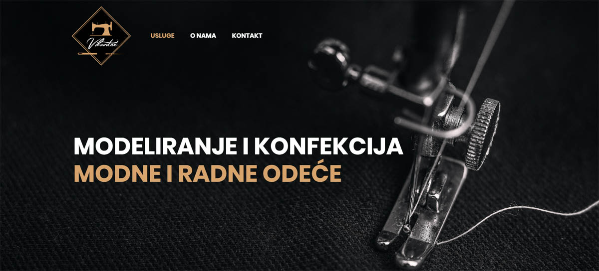 vikantex izrada websita