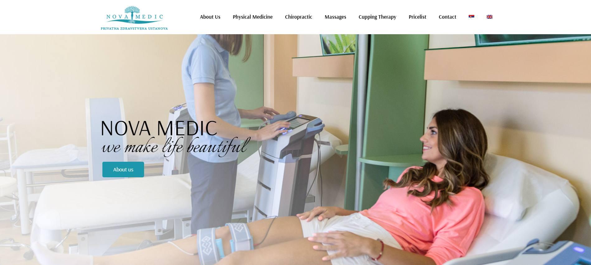 Novamedic web solution